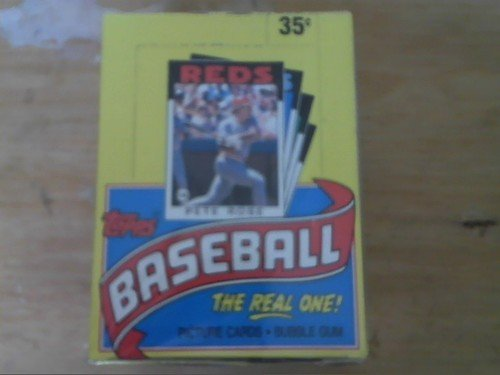 1986 TOPPS WAX BOX 36 SEALED PACKS
