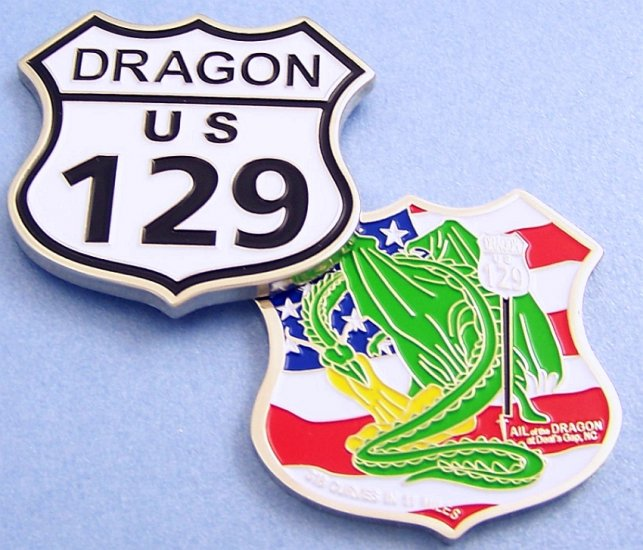 Cache the Dragon Nickel Geocoin