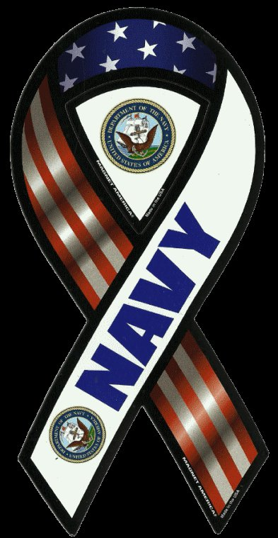 U.S. Navy Car Magnet