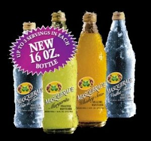 Non-Alcoholic Beverages Drinks - Four Cases of Twelve Bottles Each Masquerade