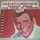 Fabian  16 Greatest Hits  Record  LP