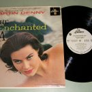 Martin Denny  The Enchanted Sea  PROMO Record LP  Sandy Warner Model