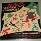 Felix Slatkin  Concert Arts Orch.  Carnival Of The Animals  Capitol P8270  Record