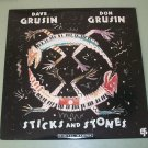 Dave & Don Grusin  Sticks And Stone  Jazz Record  LP  Digital Master