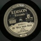 Walter Van Brunt   My Wild Irish Rose  EDISON 80293  78 rpm Record