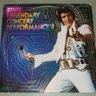 Elvis Presley  Legendary Concert Performances  RCA 44047  2 Records  LP's