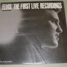 Elvis Presley   First Live Recordings  The MUSIC WORKS 3601  Record  LP