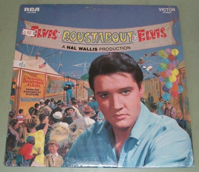 Elvis Presley   Roustabout  Soundtrack Record  LP   RCA LSP-2999
