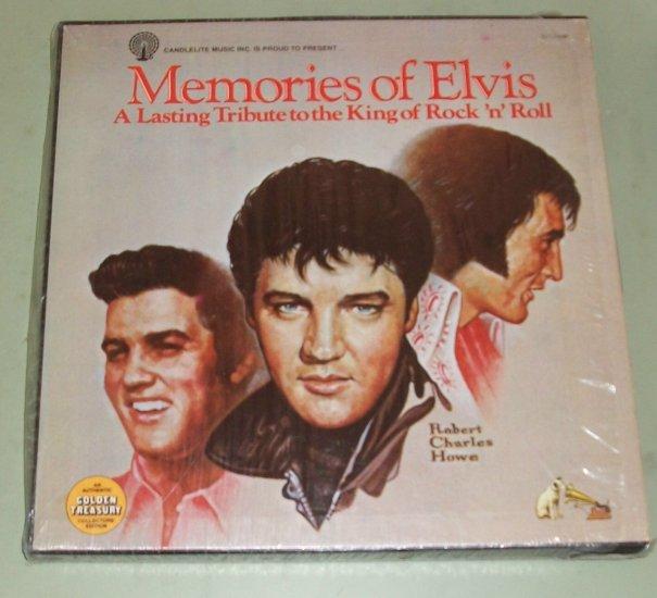 Elvis Presley   Memories Of Elvis   5 Records  Tribute To The King   RCA DML5-0347