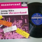 Mantovani   Song Hits From Theatreland   LONDON PS 125   BLUEBACK  Record  LP