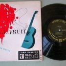 "Josh White   Strange Fruit   10""  MERCURY MG 25014  Folk Record  LP"