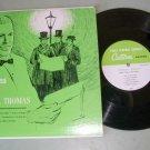"Christmas With Thomas L. Thomas   10"" Record  First Federal Savings AZ. Issue"