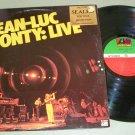 Jean-Luc Ponty  Live  Jazz Record  LP