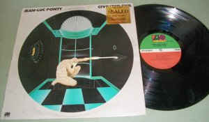 Jean-Luc Ponty Civilized Evil  Jazz Record LP