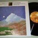 Sibelius No.4 Tapiola  Berlin Philharmonic  Karajan  Record LP