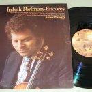 Itzhaki Perlman  Encores  Samuel Sanders  Records LP