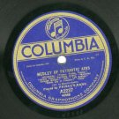 Prince's Band  Medley Of Patriotic Airs  Columbia 2237 Record 78 rpm