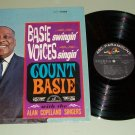 Count Basie  Swingin' Voices Singin'  Jazz Record LP
