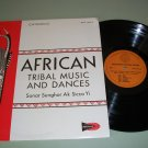 African Tribal Music & Dances Sonar Senghor Ak Sicco Yi  Record LP