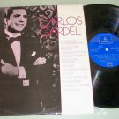 Carlos Gardel - EMI/Odeon - Latin Record LP Made In Spain
