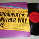 Broadway Another Way   Various Artist Record LP