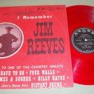 Bobby Bond Sings Tribute I Remember Jim Reeves RED Vinyl  Japan Issue