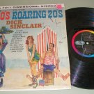 Dick Sinclair  Gay 90's Roaring 20's Record LP