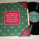 Songs For The Holidays  London Symphony Christmas Record LP