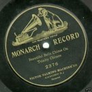 Trinity Chimes Beautiful Bells 78 rpm Record  Monarch 2376