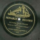 An Evening With The Minstrels No. 4 Monarch 1826 Record 78 rpm