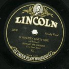 Ernest Hare & Bernard and Robinson  LINCOLN 2236 Record 78 rpm