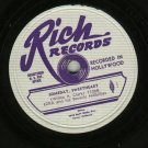Ezra And His Beverly Hillbillies Rich 7106 Record 78 rpm