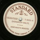Andre Musette Orchestra G String Rag STANDARD 5001 Record 78 rpm