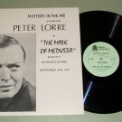 Mystery In The Air w/ Peter Lorre Old Time Radio Shows Record LP