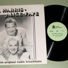Phil Harris - Alice Faye Old Time Radio Show Record LP