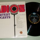 Radio's Greatest Broadcast Old Time Radio Excerpts Record