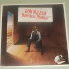 Don McLean Homeless Brother SEALED RECORD w/ Promo Photo & Letter