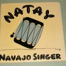 "Edward Lee Natay - Navajo Singer - CANYON 6160 - 10"" Record 1951 with Autograph on Back"