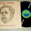 Dylan Thomas Reads A Personal Anthology CAEDMON 1294 Poetry Record LP