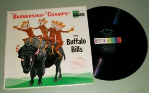 The Buffalo Bills Barbershop Champs  DECCA 8340 Record LP