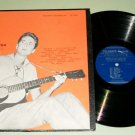 Guy Carawan Folk Songs FOLKWAYS 3544 Record LP w/ Insert