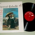 Montserrat Caballe  Songs Of Enrique Granados w/ Rafael Ferrer Record LP