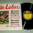 Heitor Villa-Lobos  Bachianas Brasileras MGM E3105 Record LP