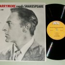 John Barrymore Reads Shakespeare Vol. 2 LPA 2281 Record LP