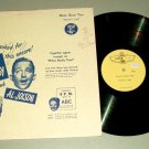 Bing Crosby and Al Jolson Philco Radio Time TOTEM 1003 Record LP
