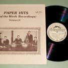 "Paper Hits ""Hit Of The Week"" Recordings Vol. 2 Record LP"