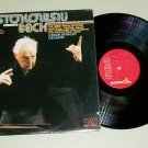 Stokowsky Conducts Bach London Symphony QUAD Record LP
