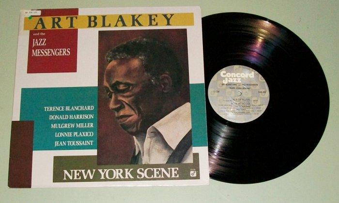 Art Blakey and the Jazz messengers New York Scene Record LP