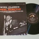 Lionel Hampton Swing Classics RCA 2318 Jazz Record LP