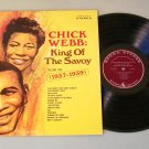 Chick Webb King Of The Savoy 1937-1939 Vol. 2 Jazz Record LP
